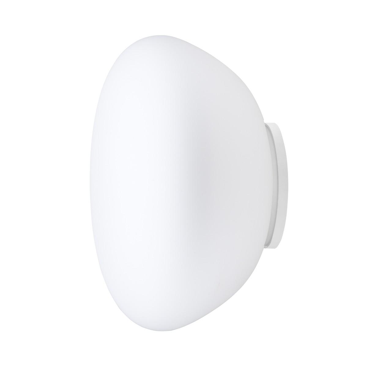 Fabbian Lumi Poga Wand-/Deckenleuchte, weiß, Fassung: LED, 3000° K