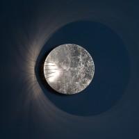 Catellani & Smith Full Moon 50 / 80 LED Wandleuchte, Ø: 50 cm, Silber (Foto: Nava-Rapacchietta)