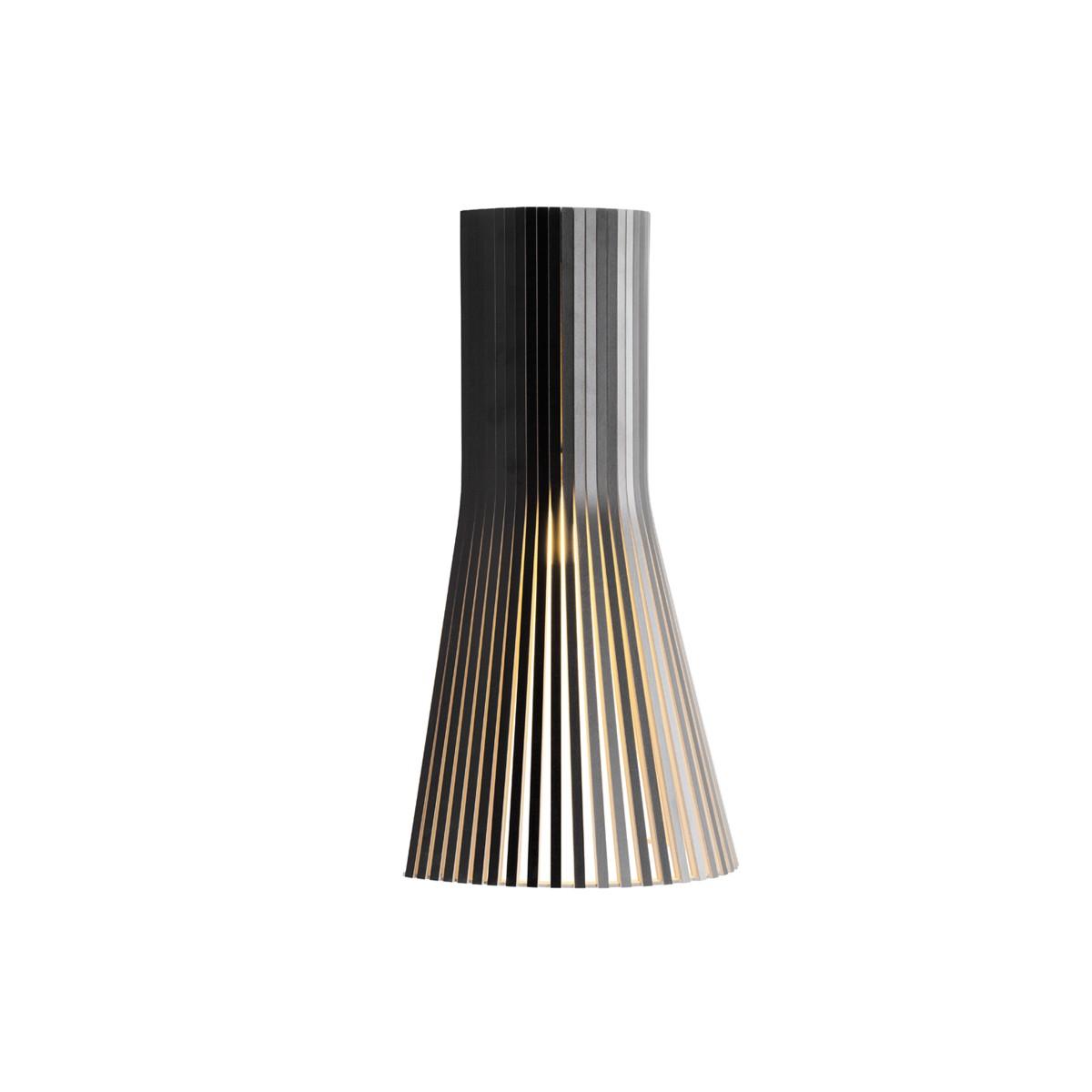 Secto Design Secto 4231 Wandleuchte, schwarz laminiert