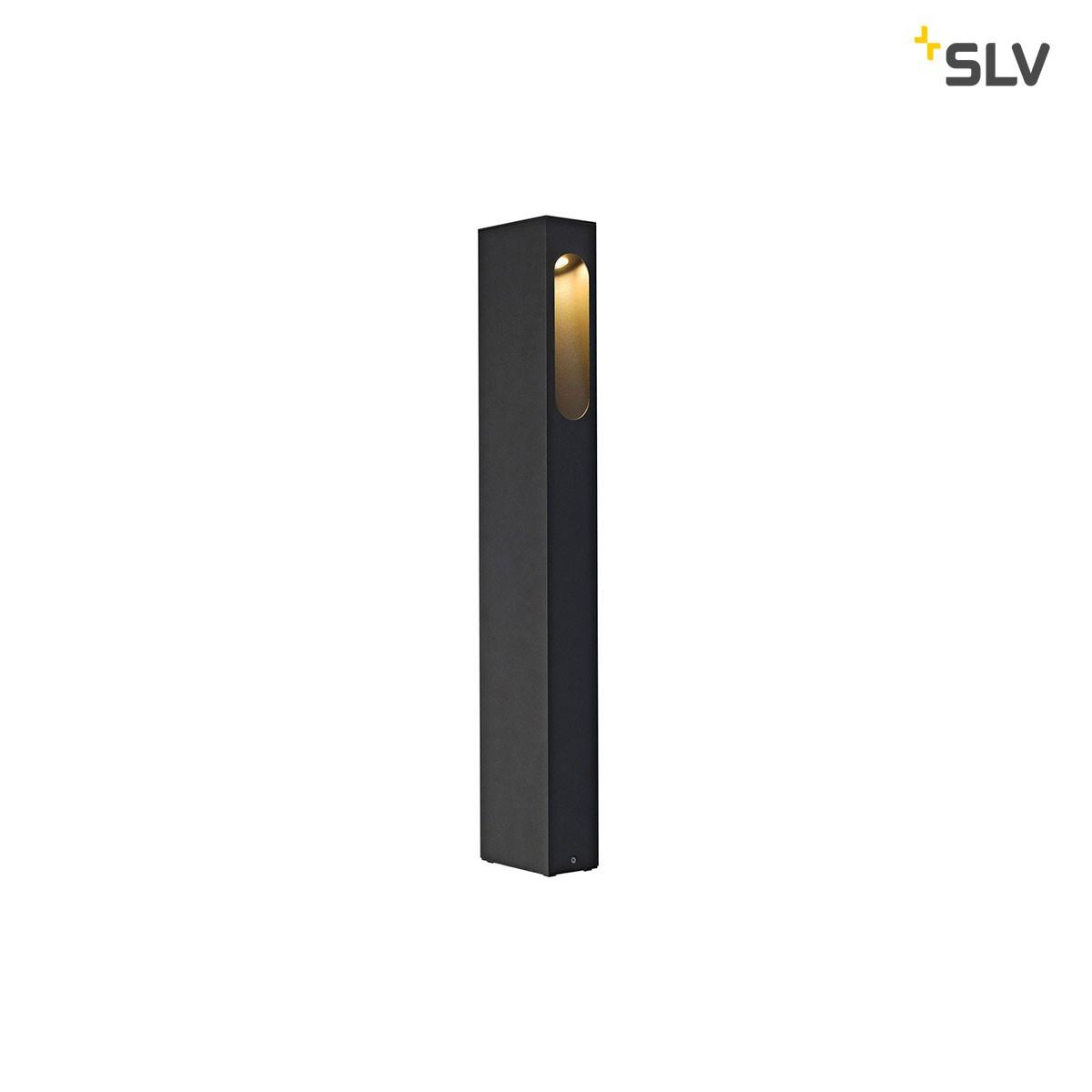 SLV Slotbox Außenstehleuchte, Höhe: 70 cm, anthrazit