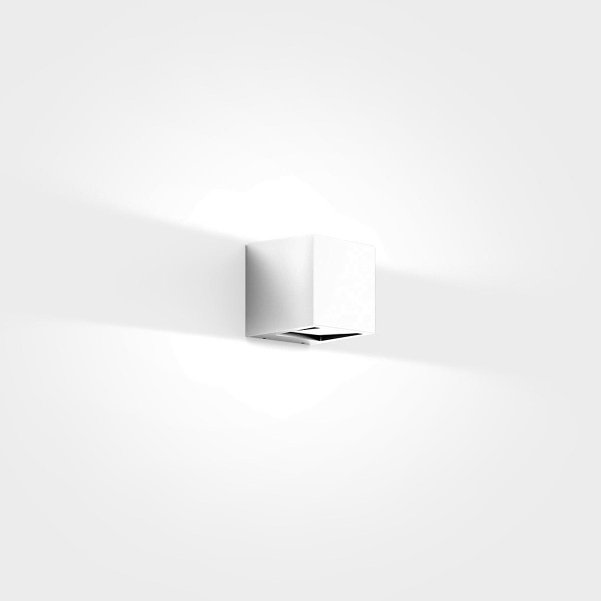 IP44.de Gap Q LED Außenwandleuchte, pure white (weiß)
