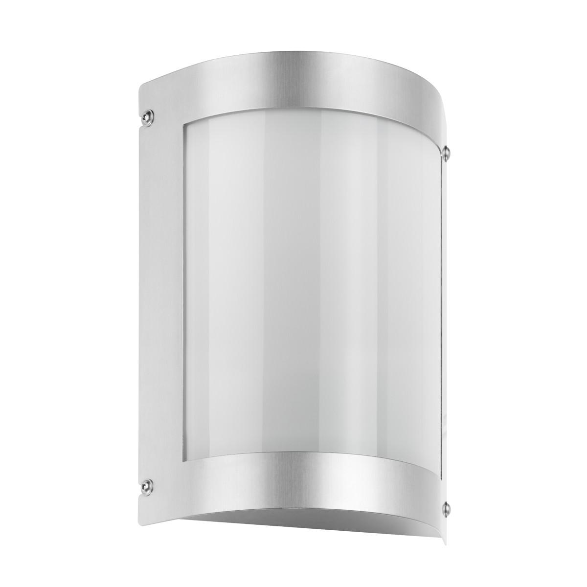 LCD Außenleuchten 5090 Wandleuchte, Edelstahl, ohne Bewegungsmelder