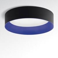 Tagora 970 Deckenleuchte, nicht dimmbar, schwarz - blau