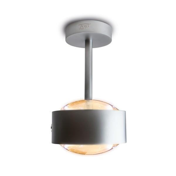 Top Light Puk Maxx Eye Ceiling LED Deckenleuchte, Chrom matt, Linse klar
