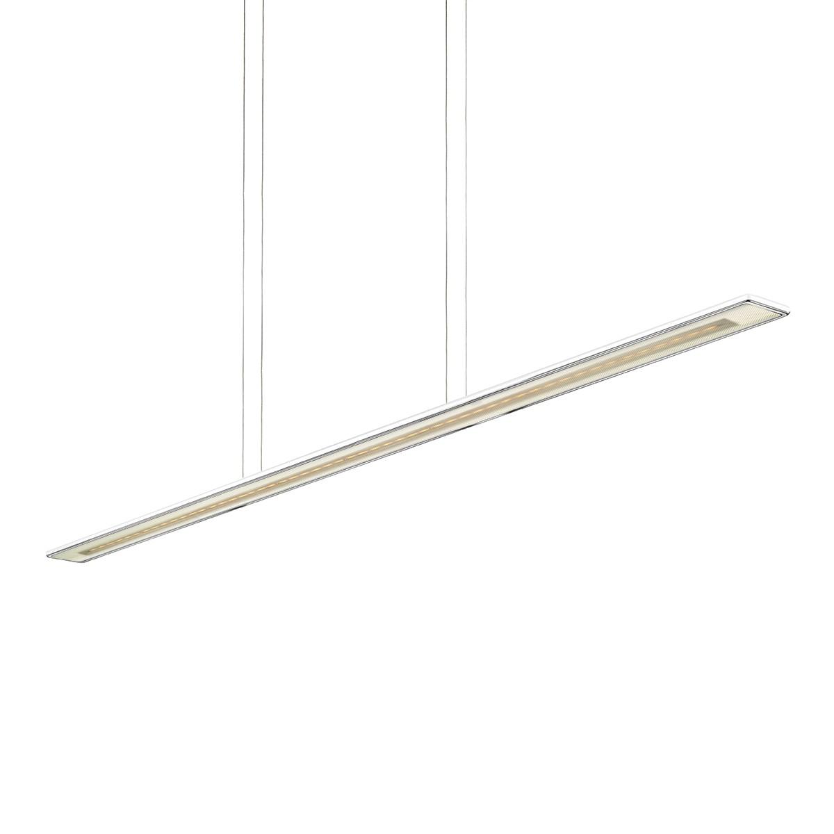 Bruck Horizon Pendelleuchte, Länge: 160 cm, weiß