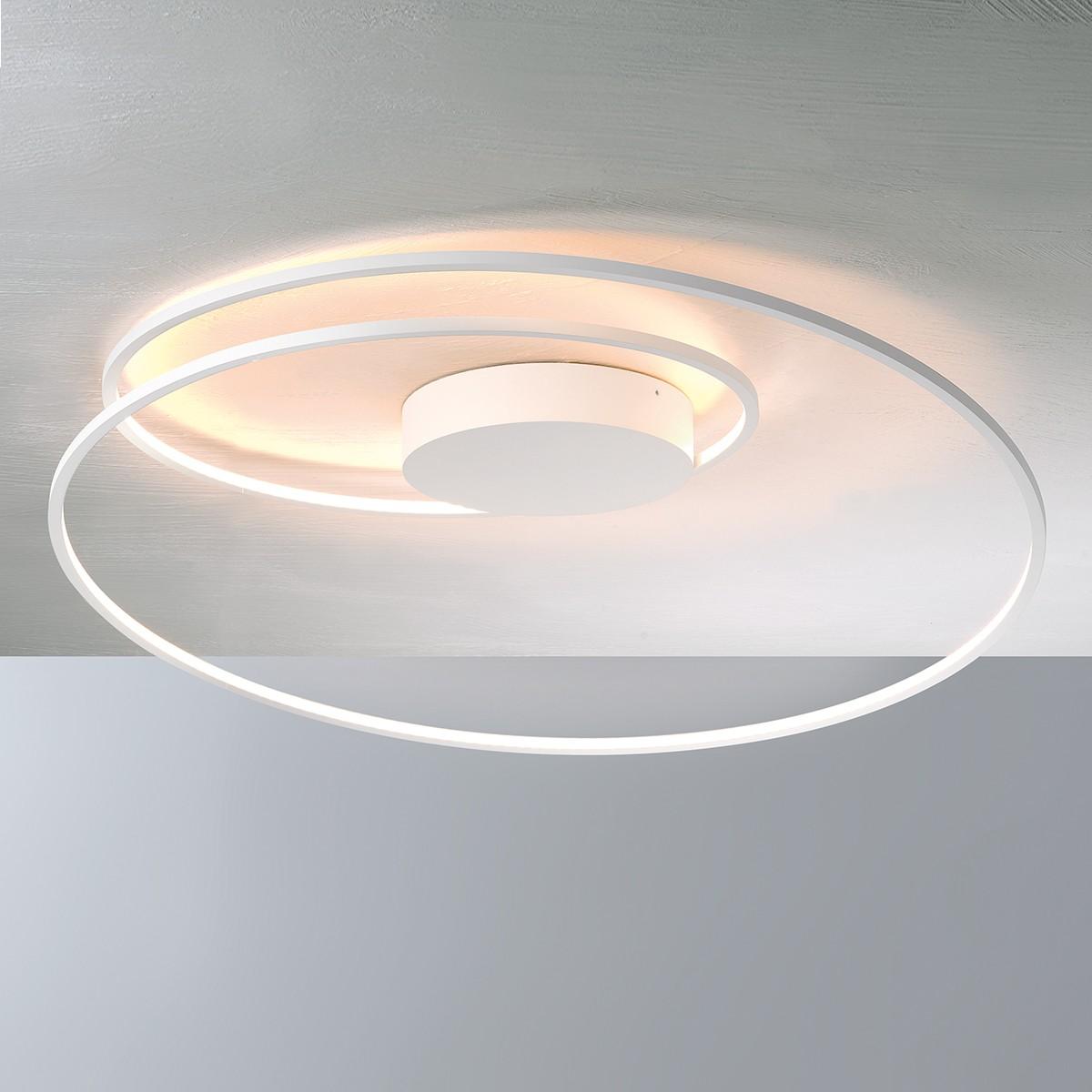 Bopp AT Deckenleuchte, weiß, Ø: 70 cm