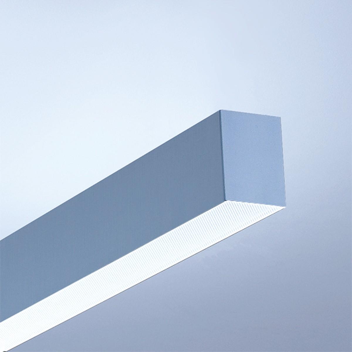 Lightnet Matric-A3 Deckenleuchte, Länge: 118,2 cm, Aluminium natureloxiert