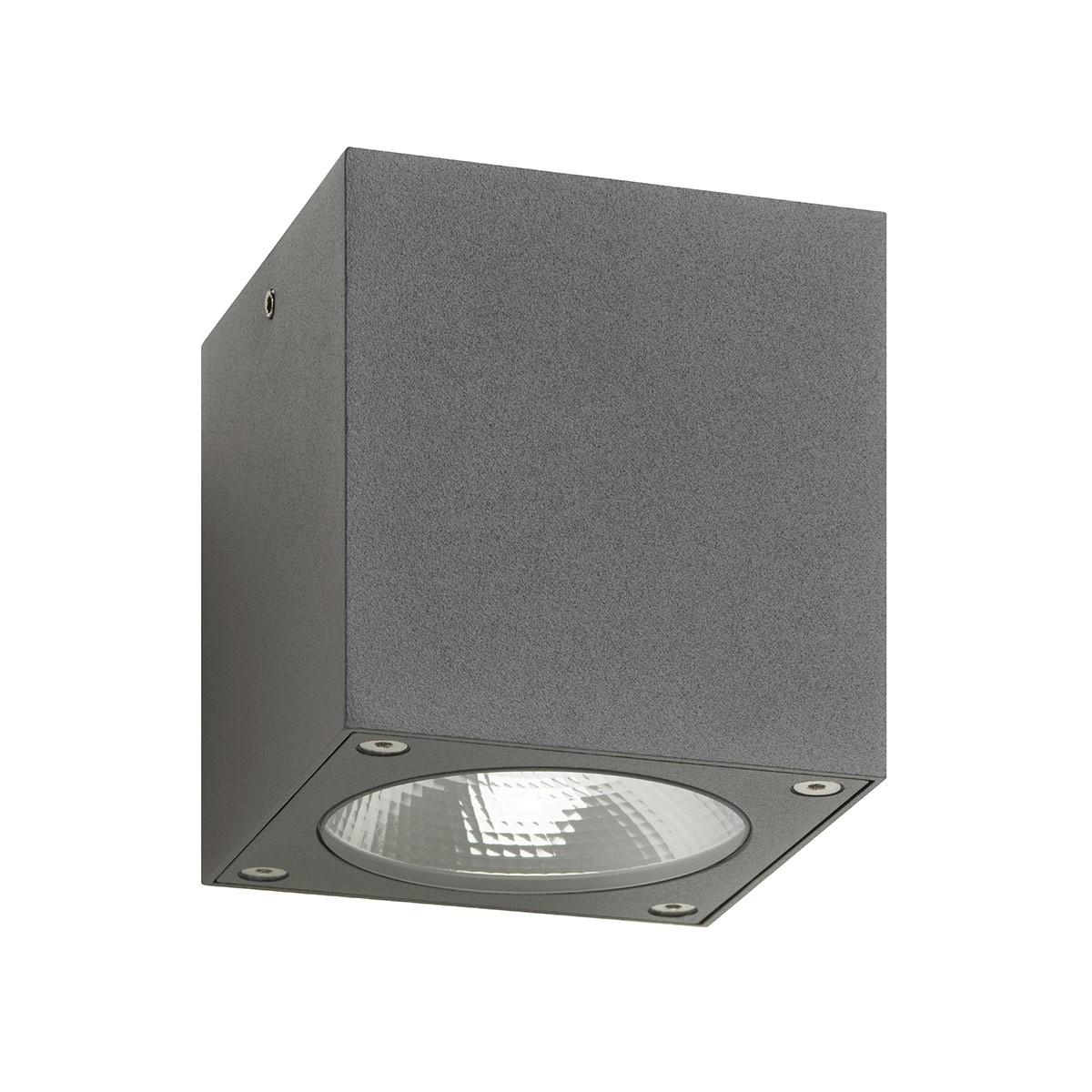 LCD Außenleuchten 5028 LED Deckenleuchte, graphit