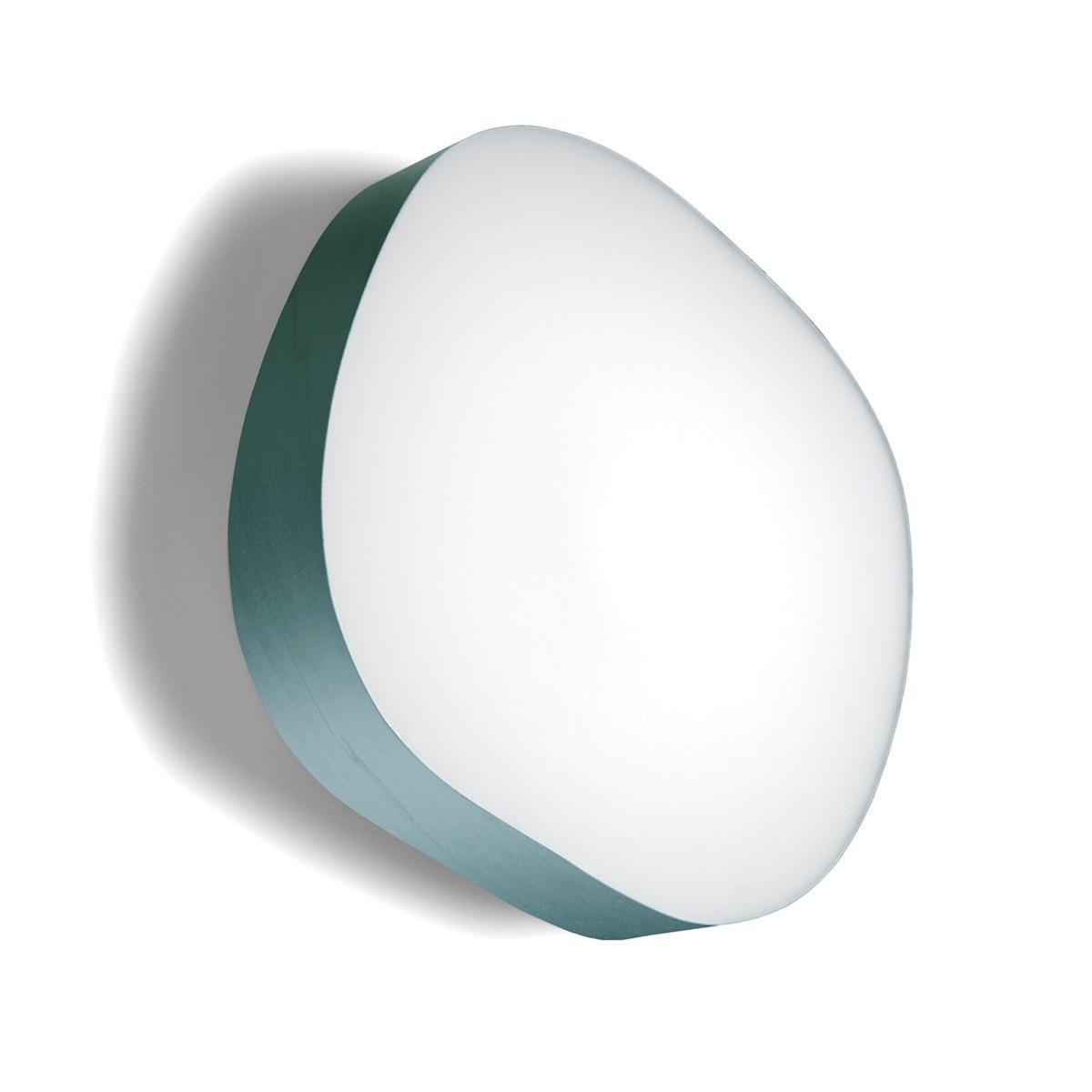 LZF Lamps Guijarro Large LED Wand- / Deckenleuchte, türkis