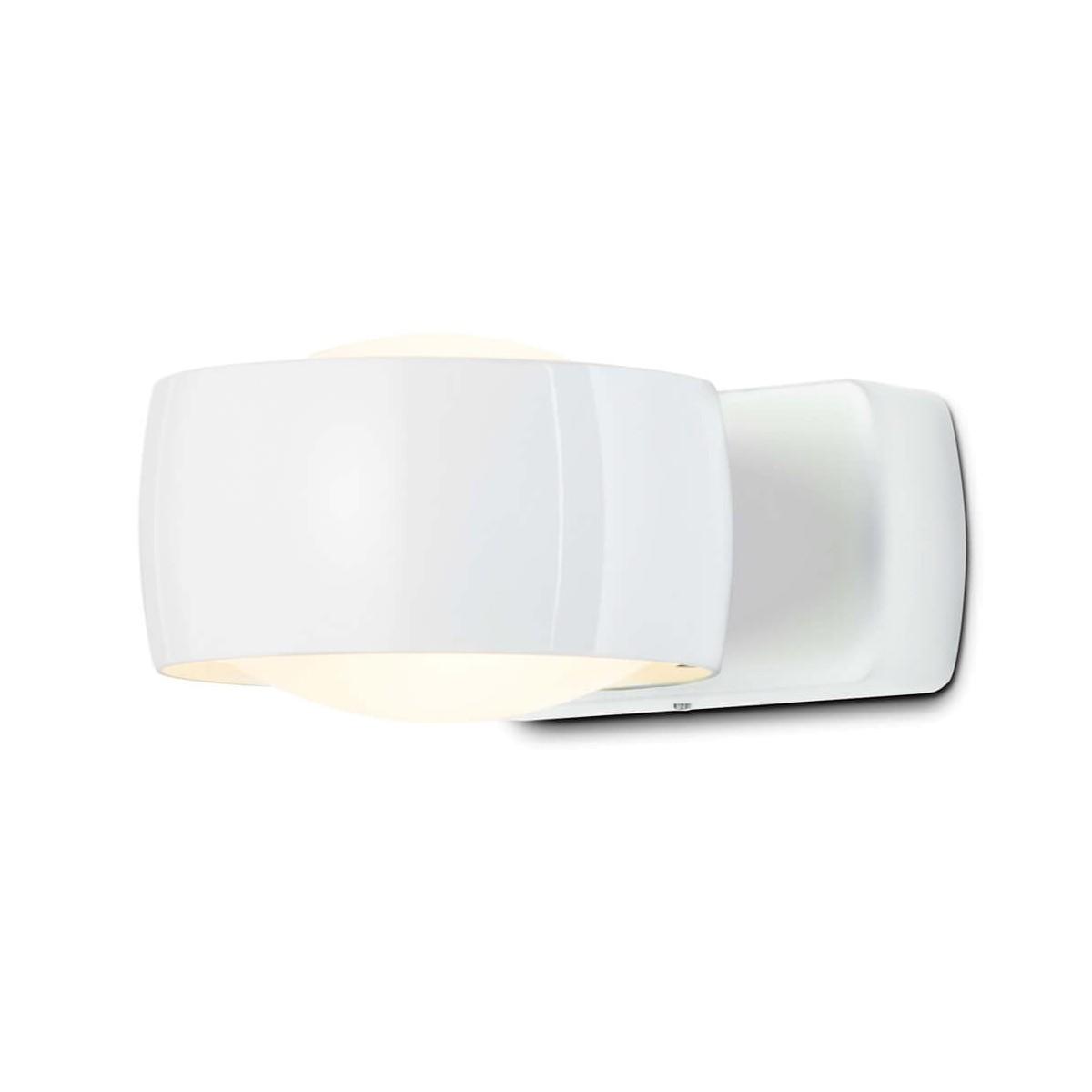 Oligo Grace LED Wandleuchte, weiß glänzend