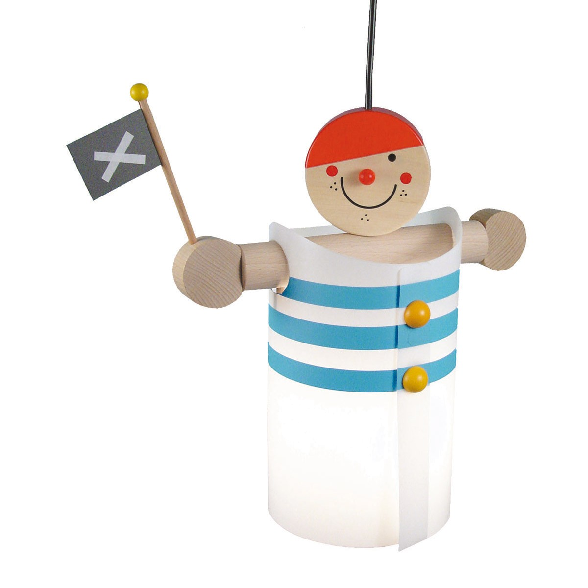 Niermann Standby Pirat Pendelleuchte, mit Aufhängung