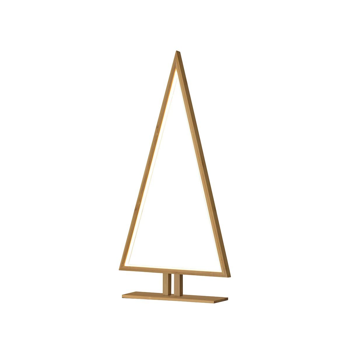 Sompex Pinewood LED Tischleuchte, Höhe: 65 cm, bambus