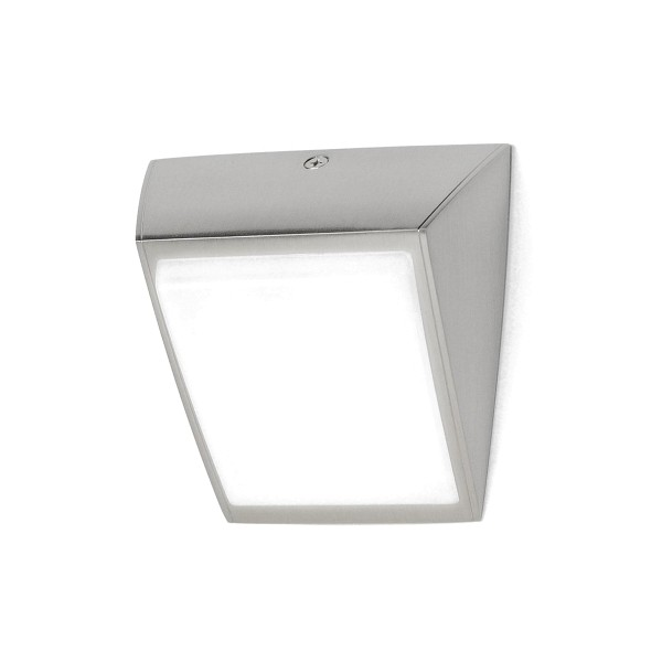 Milan Odile LED Wandleuchte, Nickel matt