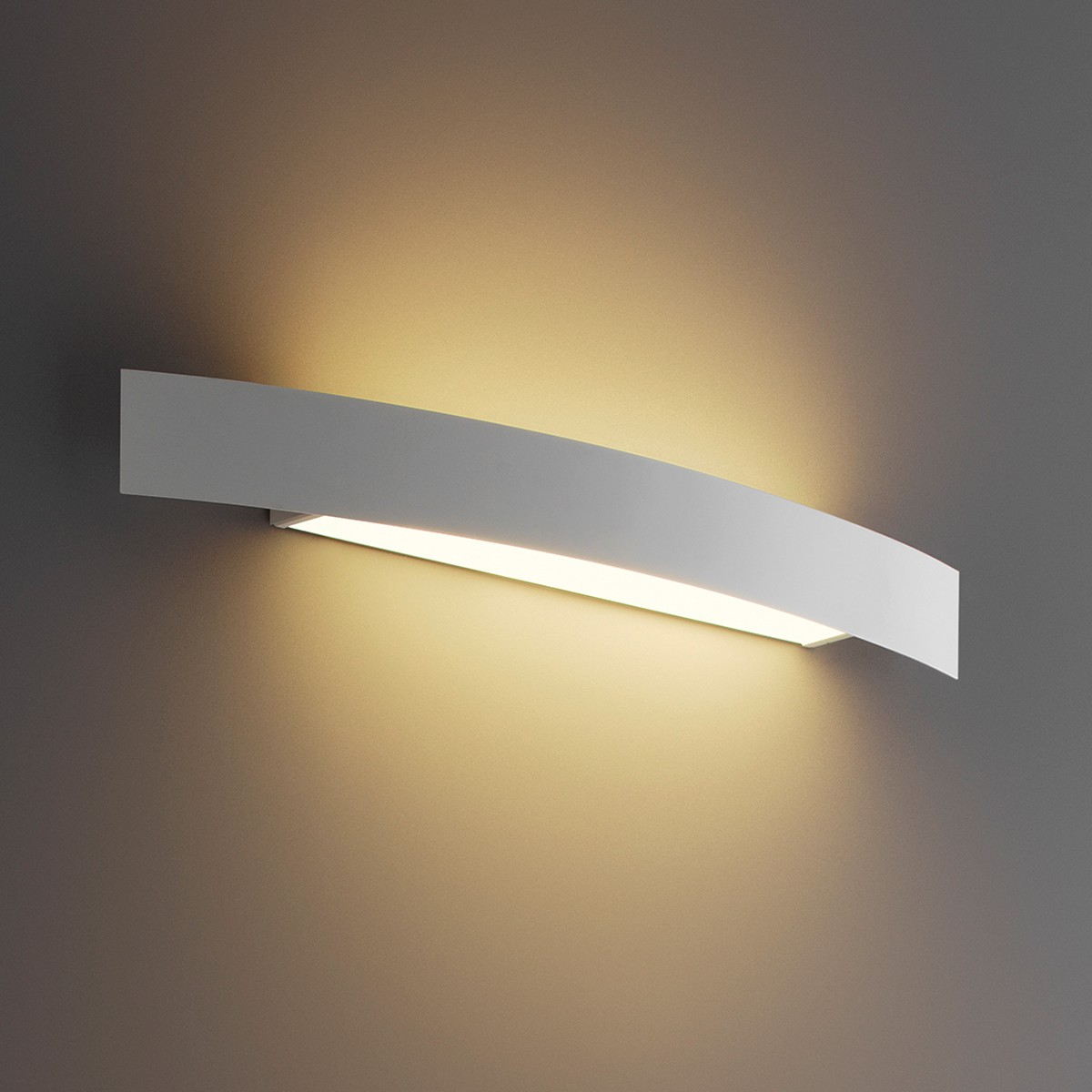 Fontana Arte Riga 56 LED Wandleuchte, weiß lackiert