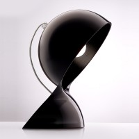 Artemide Design Dalù Tavolo, schwarz