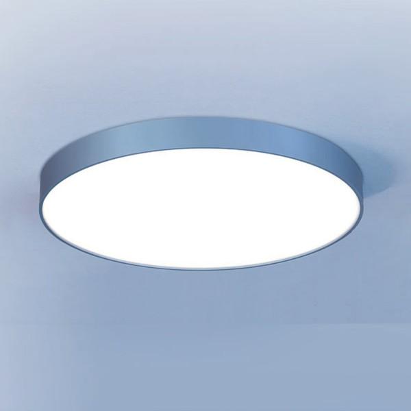 Lightnet Basic-A1 IP54 Wand- / Deckenleuchte, Silber matt