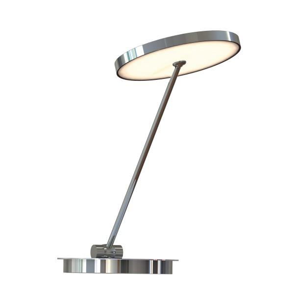 Top Light Sun Table Office Tischleuchte, 40 cm, Chrom
