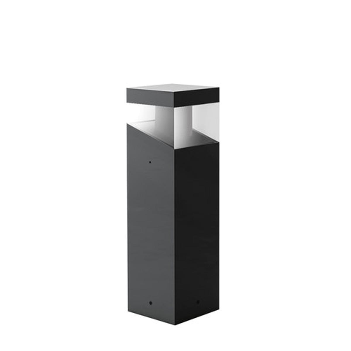 Artemide Outdoor Tetragono LED Pollerleuchte, Höhe: 45 cm, anthrazitgrau