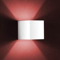 Siri Wandleuchte, Aluminium mattweiß