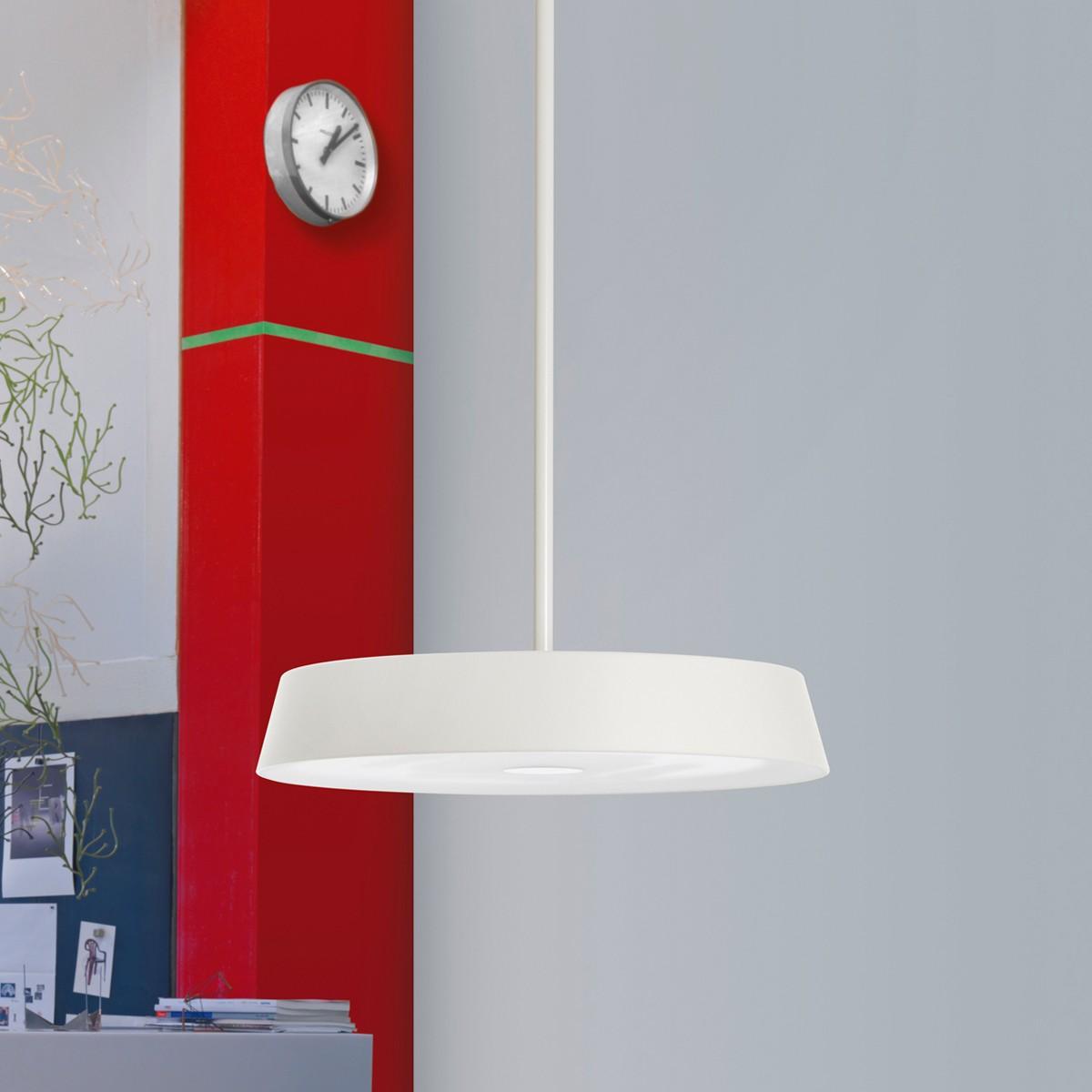 Belux Koi-30 LED Pendelleuchte, Multisens, 3000K, weiß