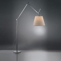 Tolomeo Mega Terra LED mit Schnurdimmer, Alu, Schirm: Pergament, Ø: 36 cm