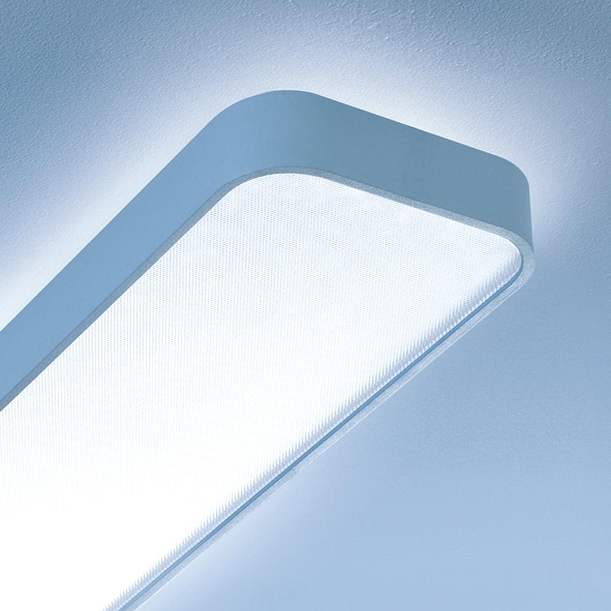 Lightnet Caleo-X1 Deckenleuchte, Länge: 120 cm, Silber matt