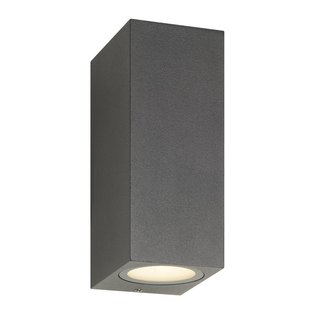 LCD Außenleuchten 5035/5036/5037 Up & Down LED Wandleuchte, graphit