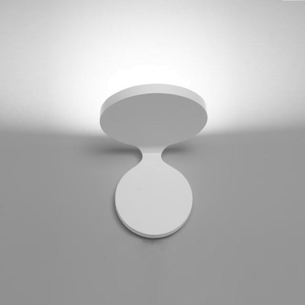 Artemide Rea Parete LED, Breite: 12 cm, weiß