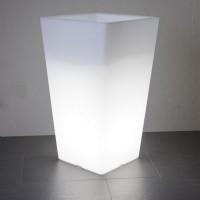 Quadro Außenleuchte, weiß, Höhe: 68 cm