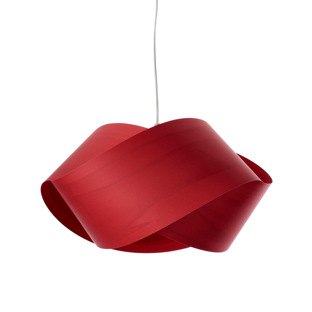LZF Lamps Nut Pendelleuchte, rot