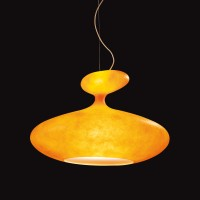E.T.A. Sat Pendelleuchte, orange