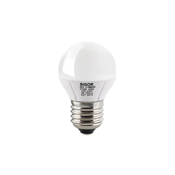 LED Globe E27 5 W