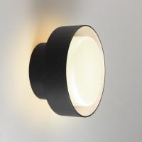 Marset Plaff-on! IP65 LED Wand- / Deckenleuchte, schwarz