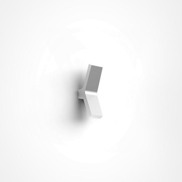 IP44.de Yo Außenwandleuchte, pure white (weiß)