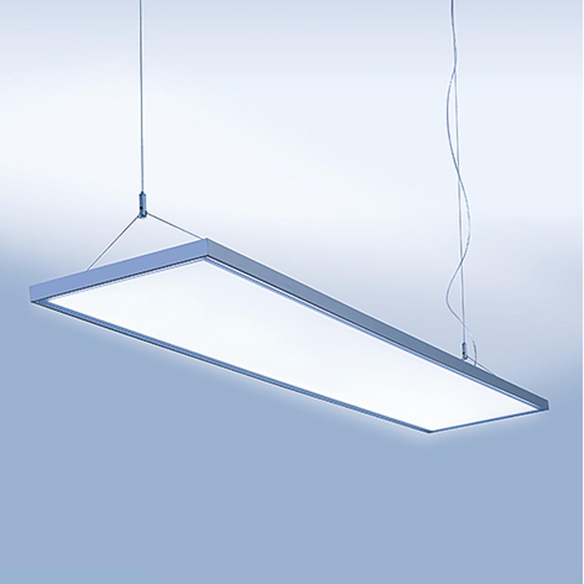 Lightnet Cubic-P1 Superflat Pendelleuchte, Länge: 87 cm, Aluminium natureloxiert