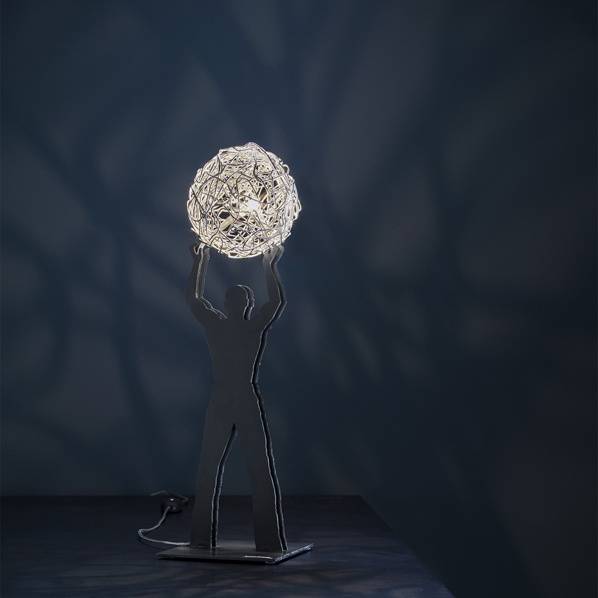 Catellani & Smith Uomo della Luce S Tischleuchte, Ø: 10 cm