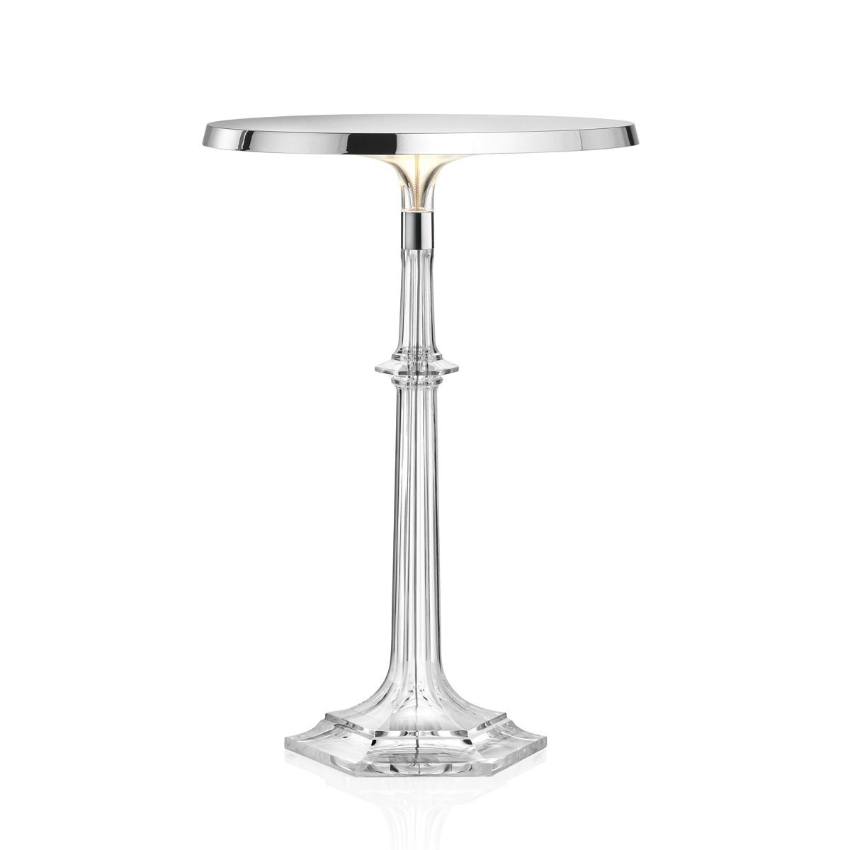 Flos Bon Jour Versailles Tischleuchte, Chrom, ohne Krone