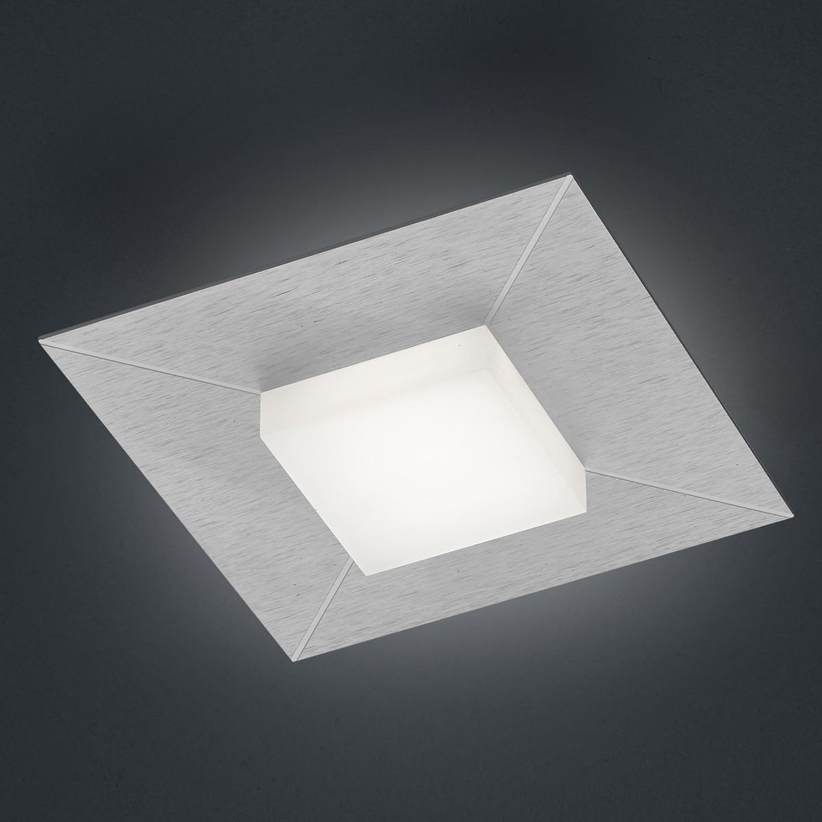 Bankamp Diamond Wand- / Deckenleuchte, Silber eloxiert