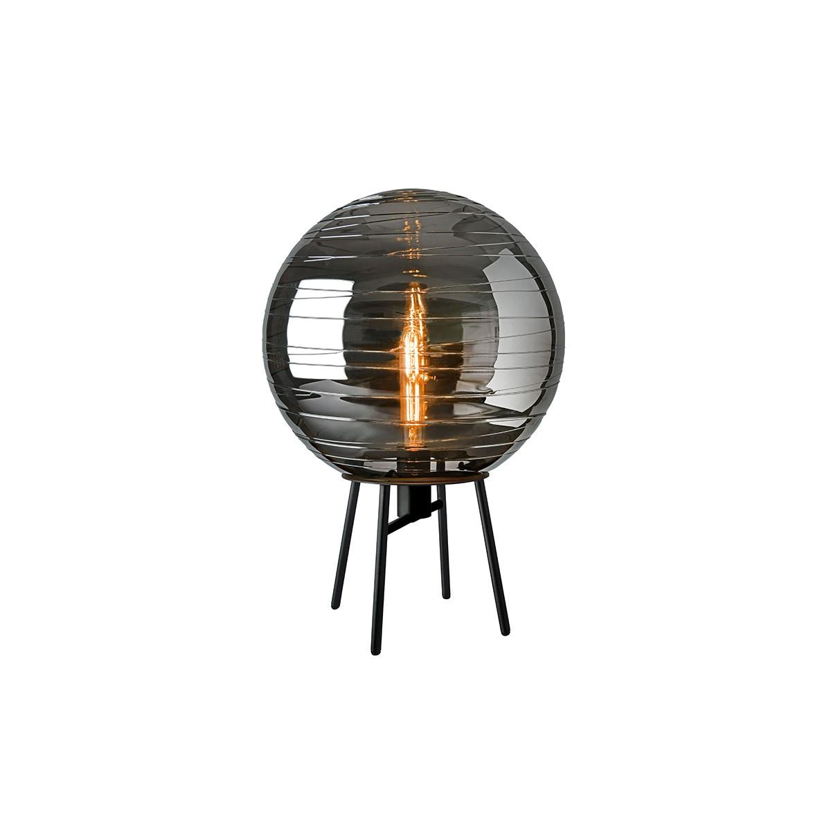 Sompex Lantaren Tischleuchte, Glas: smoke (grau)
