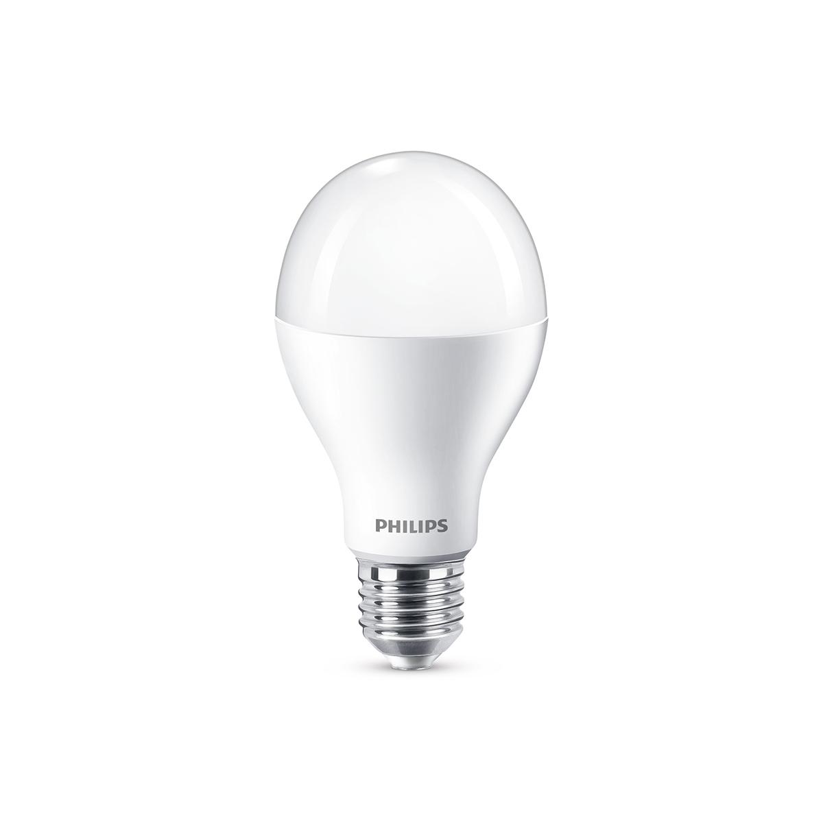 philips leuchtmittel led lampe e27 13 5 w warmwei dimmbar. Black Bedroom Furniture Sets. Home Design Ideas