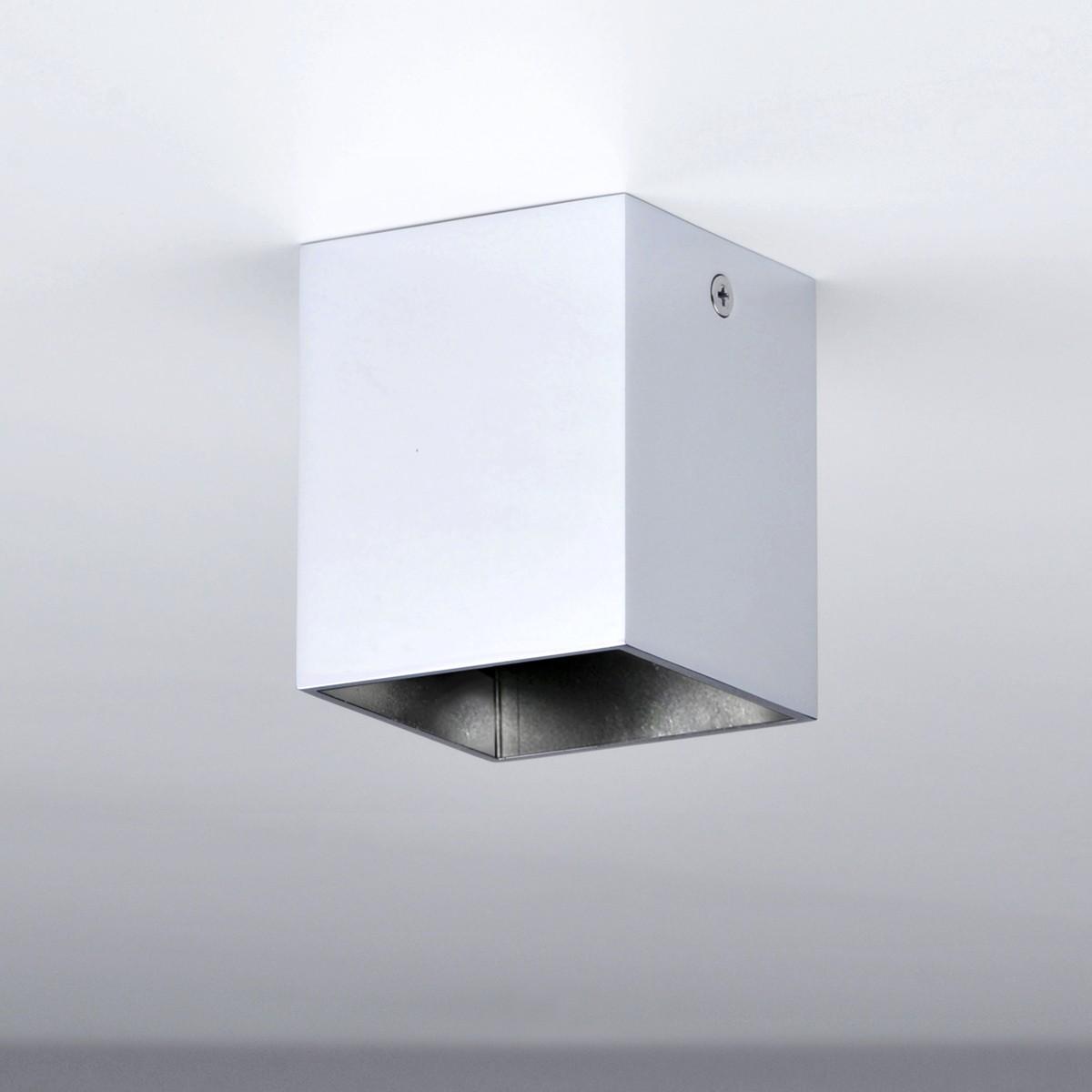 Milan Mini Dau LED Deckenleuchte, mattweiß lackiert