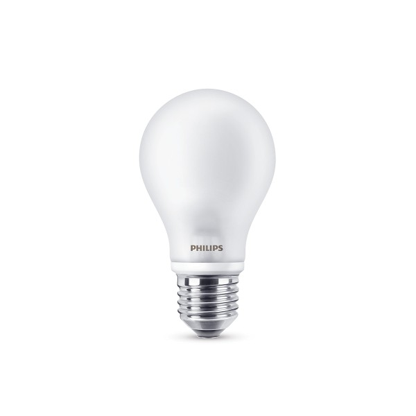 Philips LED Classic Lampe E27 7 W, warmweiß, matt