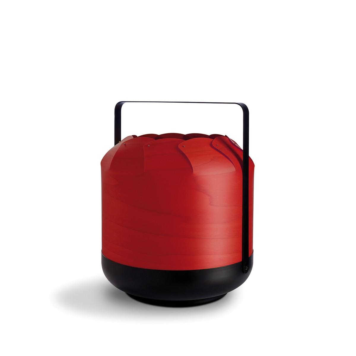 LZF Lamps Chou Short Tischleuchte, rot