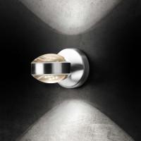Lence Wandleuchte, Aluminium poliert