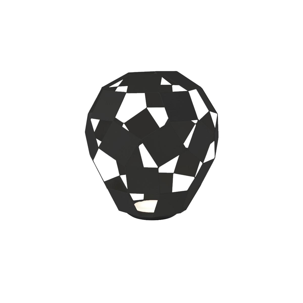 Sompex Belly LED Tischleuchte, schwarz