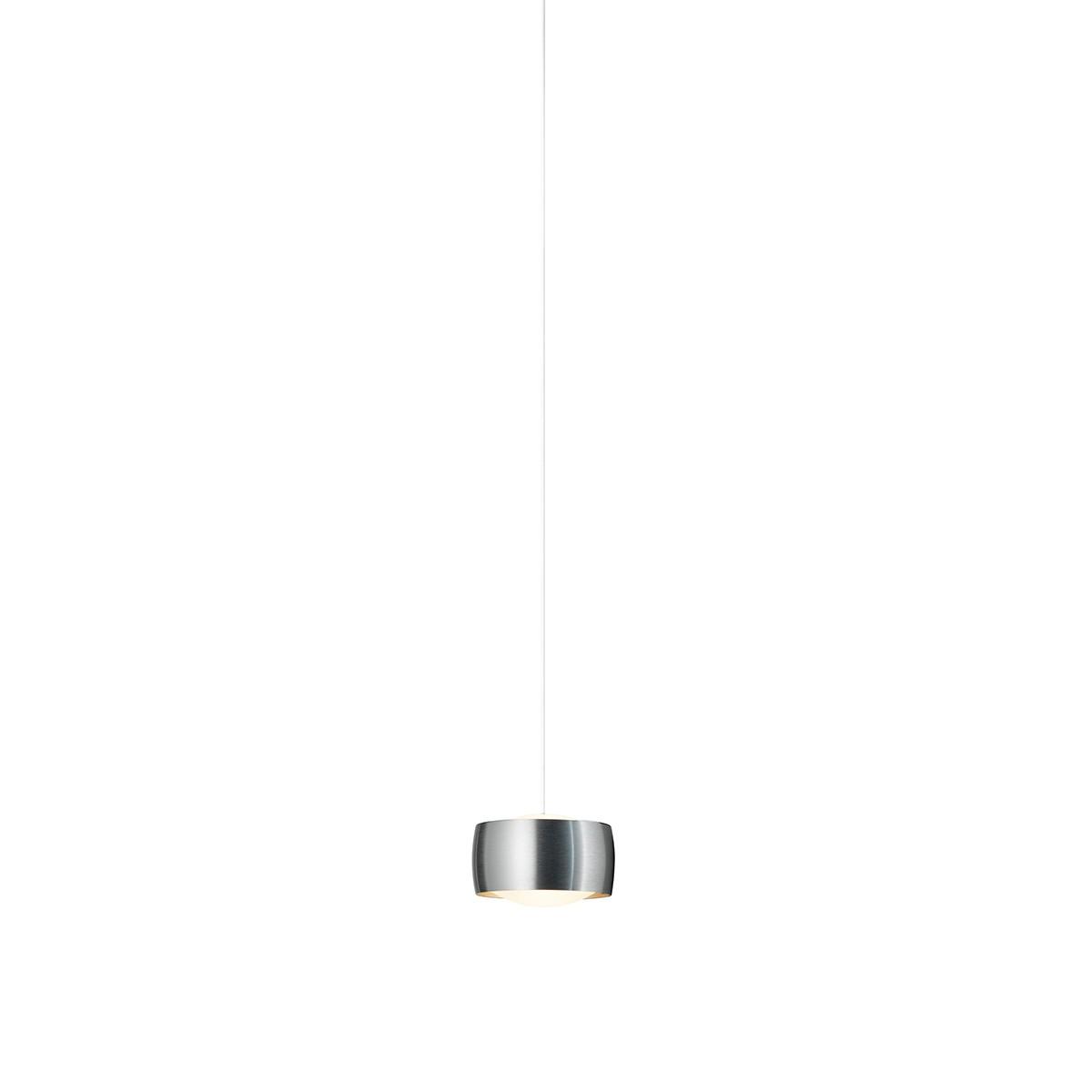 Oligo PHASE Grace LED Pendelleuchte, Aluminium gebürstet
