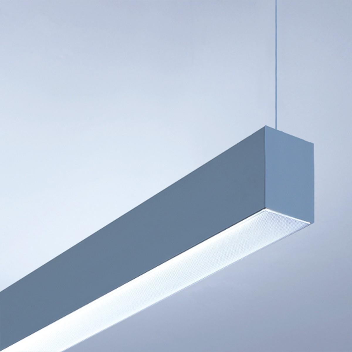 Lightnet Matric-R3 Pendelleuchte, Länge: 89 cm, Aluminium natureloxiert
