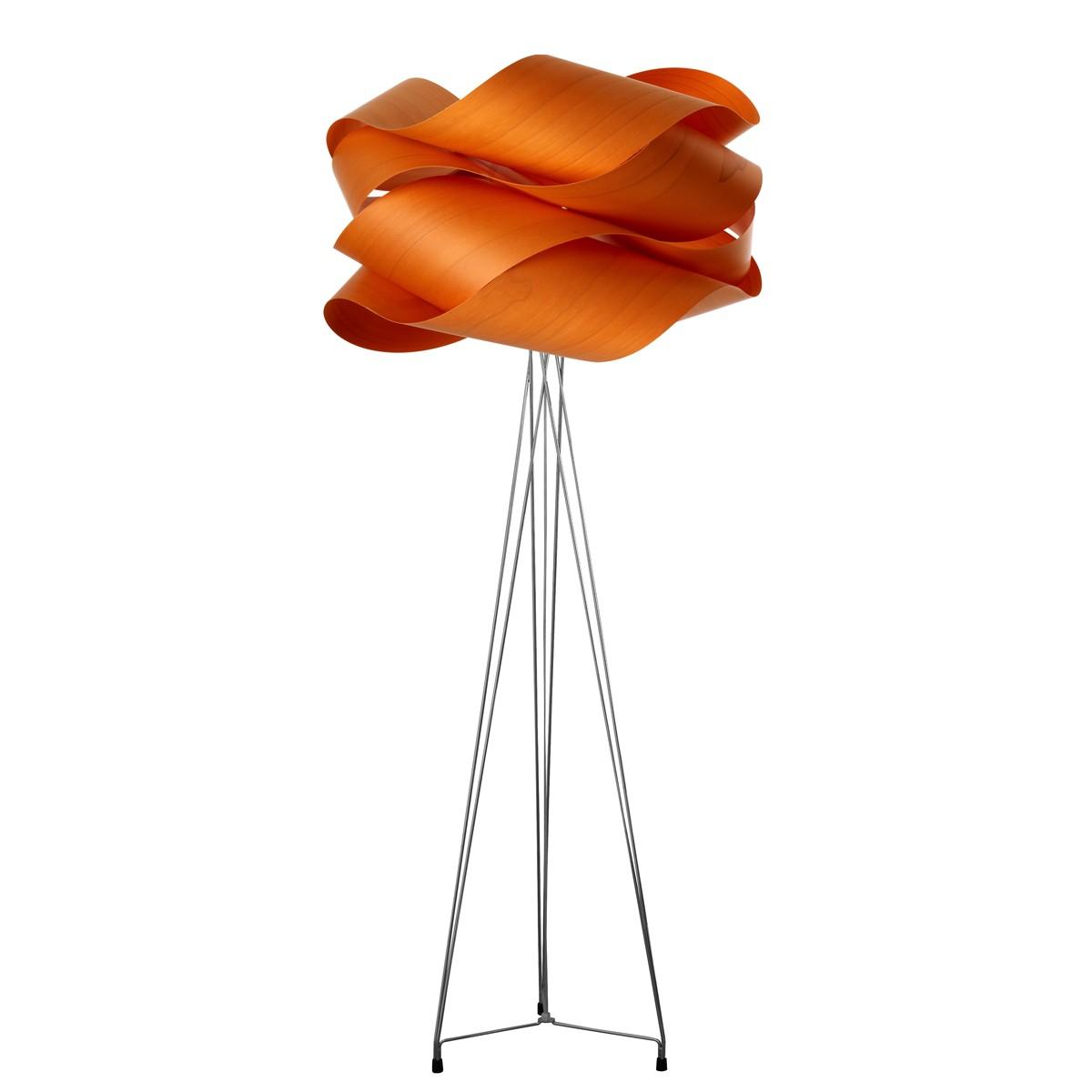 LZF Lamps Link Stehleuchte, Schirm: orange