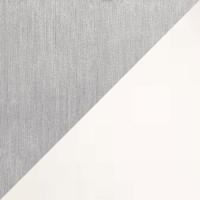 Avus Stehleuchte, Aluminium matt, Chintz weiß