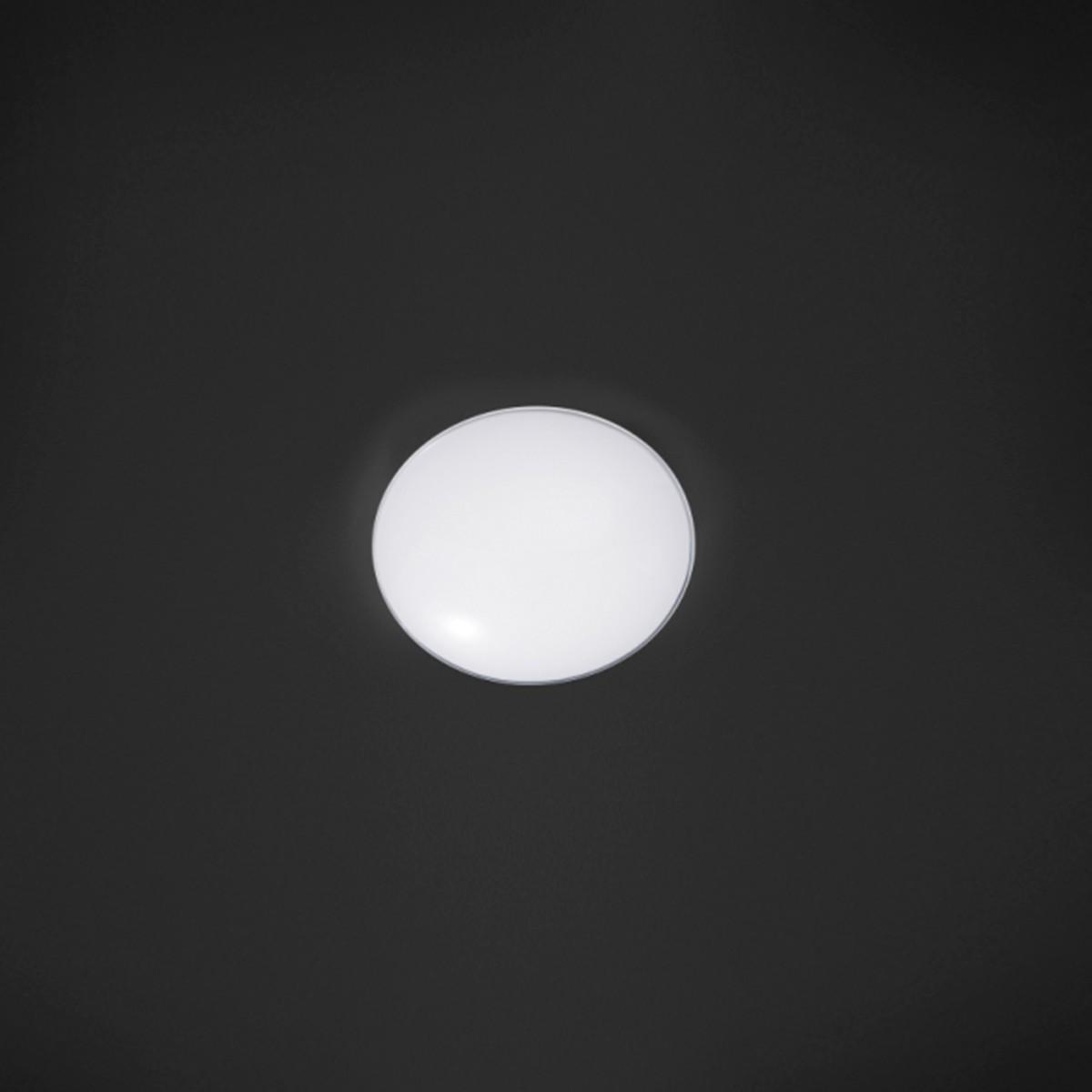 Bankamp Toledo Deckenleuchte, Ø: 32 cm, opalweiß / klar